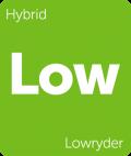 Leafly Lowryder hybrid cannabis strain