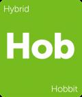 Leafly Hobbit hybrid cannabis strain