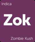 Zombie Kush Leafly cannabis strain tile