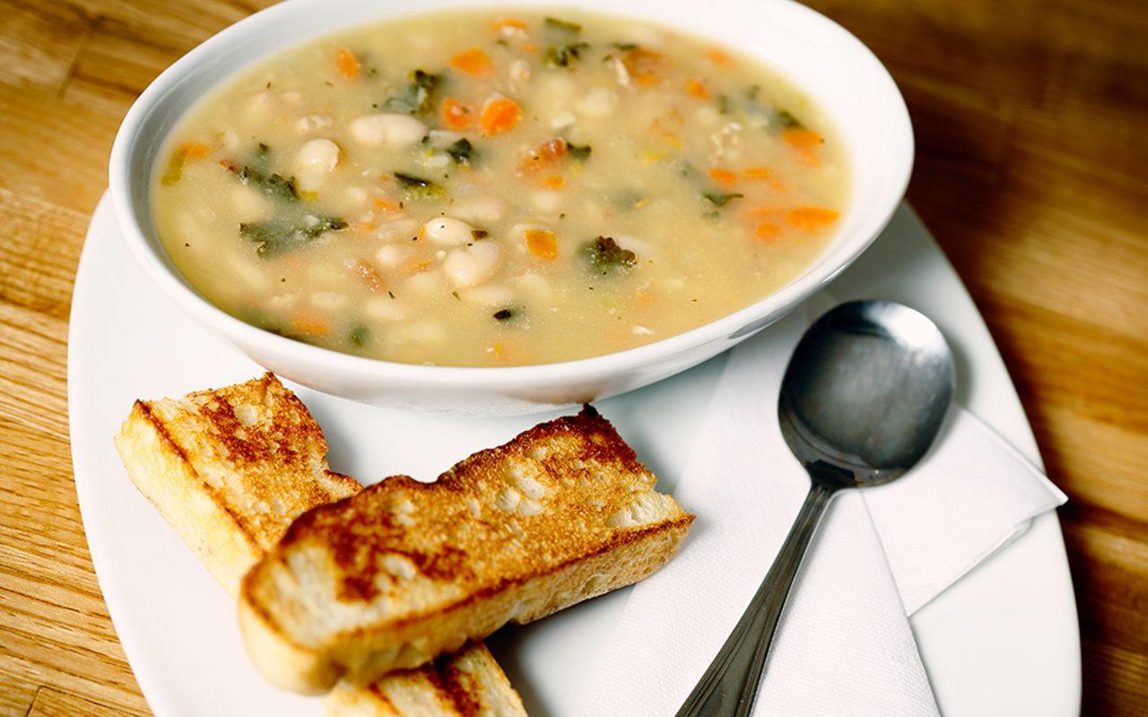 Recipe: Marijuana-Infused White Bean Soup With Pesto | Leafly