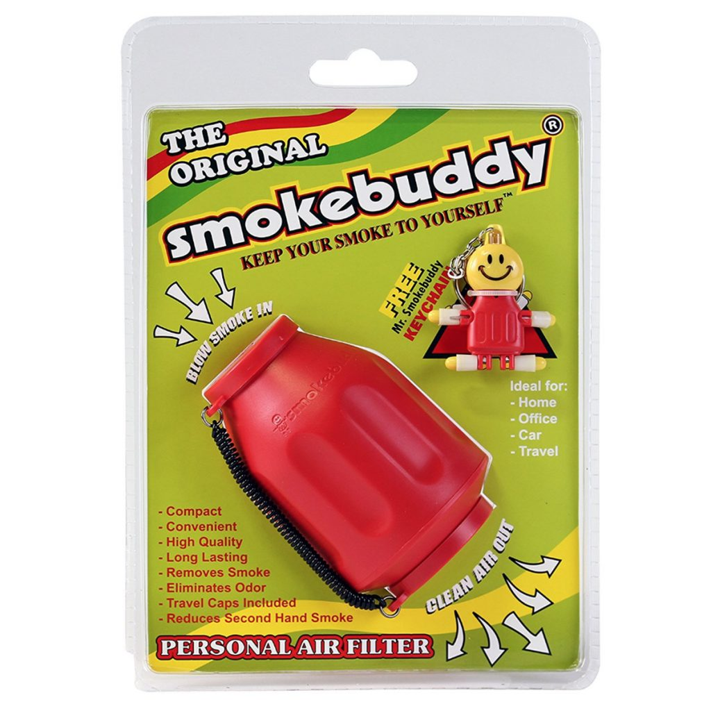 Discrete cannabis products for the holidays: Smokebuddy Personal Air Filter