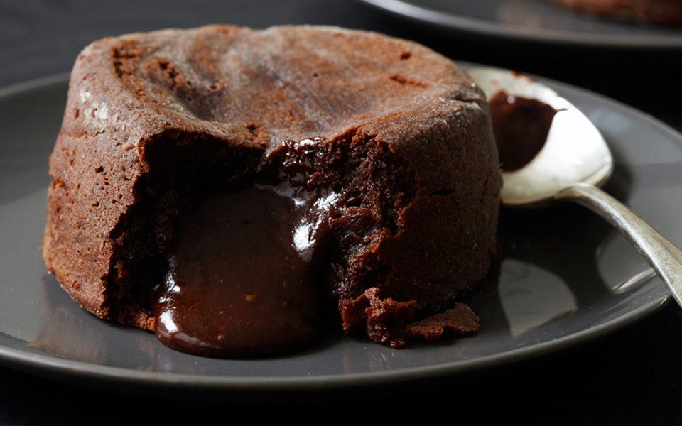 Recipe: CBD-Infused Chocolate Lava Cakes