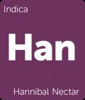 Hannibal Nectar Leafly cannabis strain tile