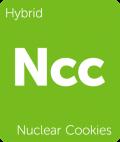 Nuclear Cookies Leafly cannabis strain tile