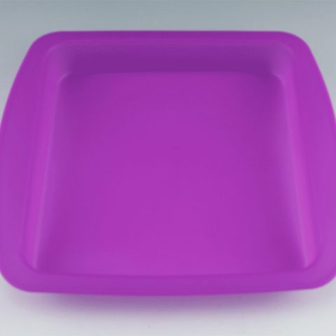 "Mile High Glass Pipes' 8""x8"" silicone dab tray"