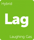 Laughing Gas Leafly cannabis strain tile