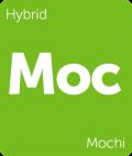 Mochi Leafly cannabis strain tile