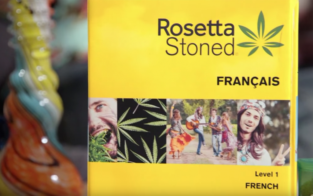 Watch This: Jimmy Kimmel Markets a New Language Learning Software for Stoners