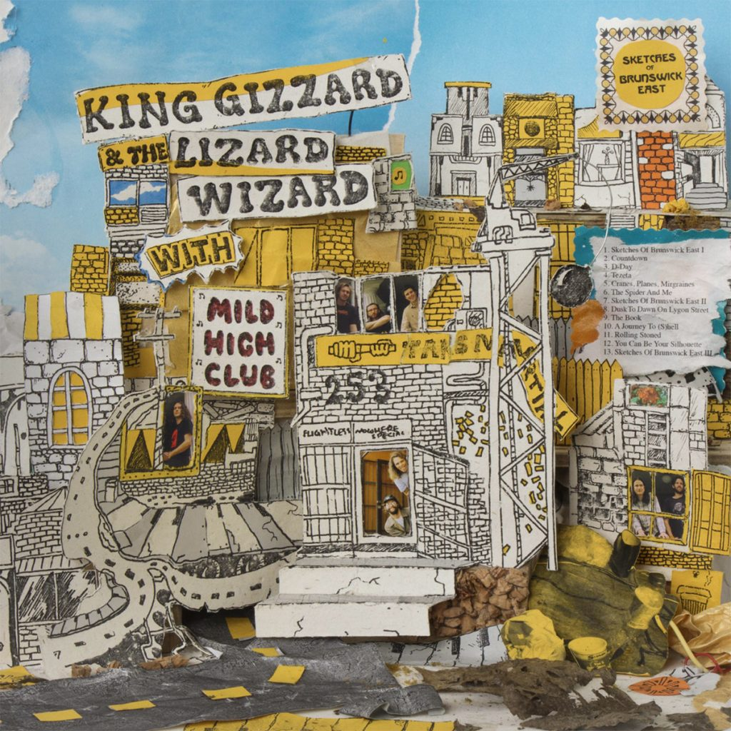 Sketches Of Brunswick East By King Gizzard The Lizard Wizard