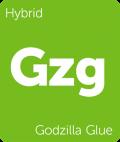 Leafly Godzilla Glue hybrid cannabis strain