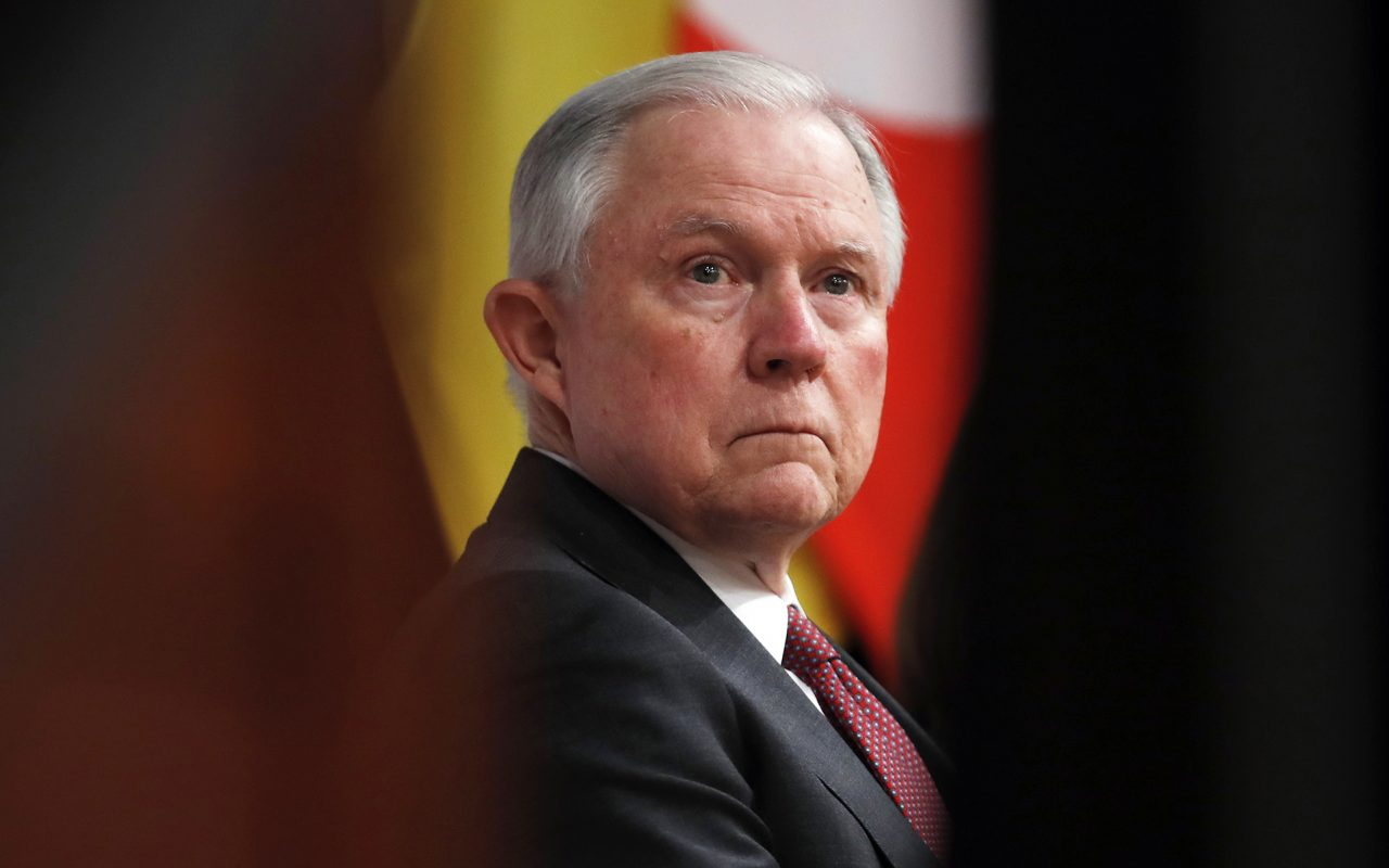 Newly Released Footage Shows Sessions Sparring With DOJ Interns