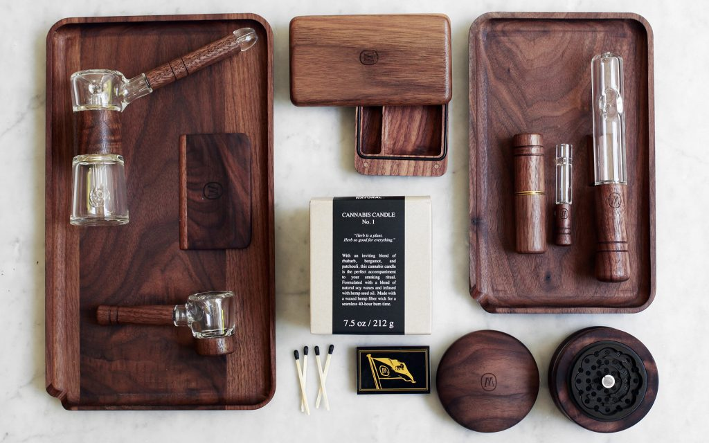 Marley Natural black walnut smoking accessories