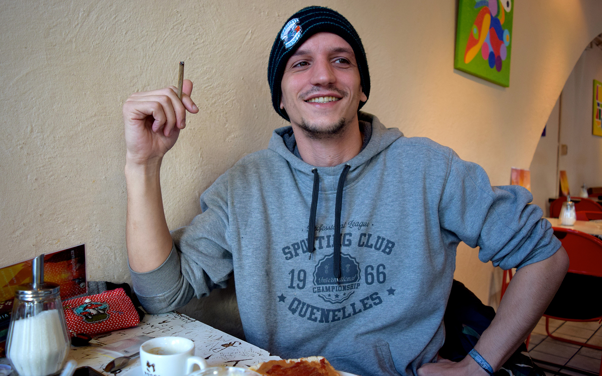 The People You Meet in Amsterdam Coffeeshops #5: Adrien | Leafly