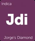 Jorge's Diamond Leafly cannabis strain tile