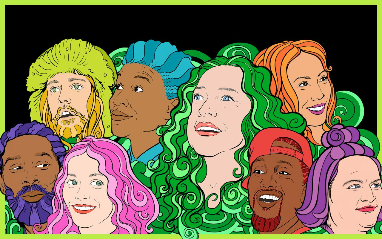 Netflix Disjointed iillustration