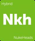 NukeHeads Leafly cannabis strain tile