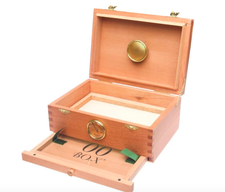This handcrafted Spanish cedar wood and brass finished storage box comes complete with a ...  sc 1 st  AZMMCC & Cannabis Product Deals: Dab Rigs Stash Boxes and More | AZMMCC
