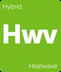 Heatwave Leafly cannabis strain tile