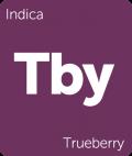 Trueberry Leafly cannabis strain tile
