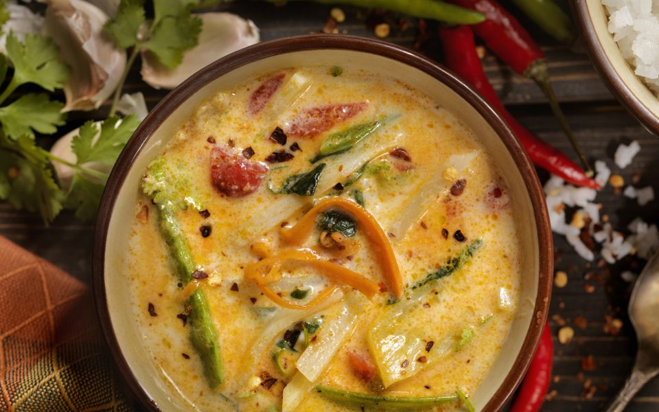 Recipe: Cannabis-Infused Coconut Curry