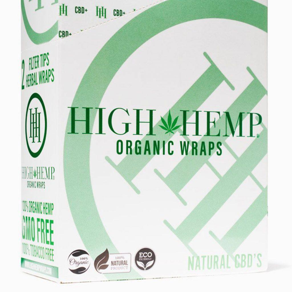 Blunt wrap #1: High Hemp Organic Wraps
