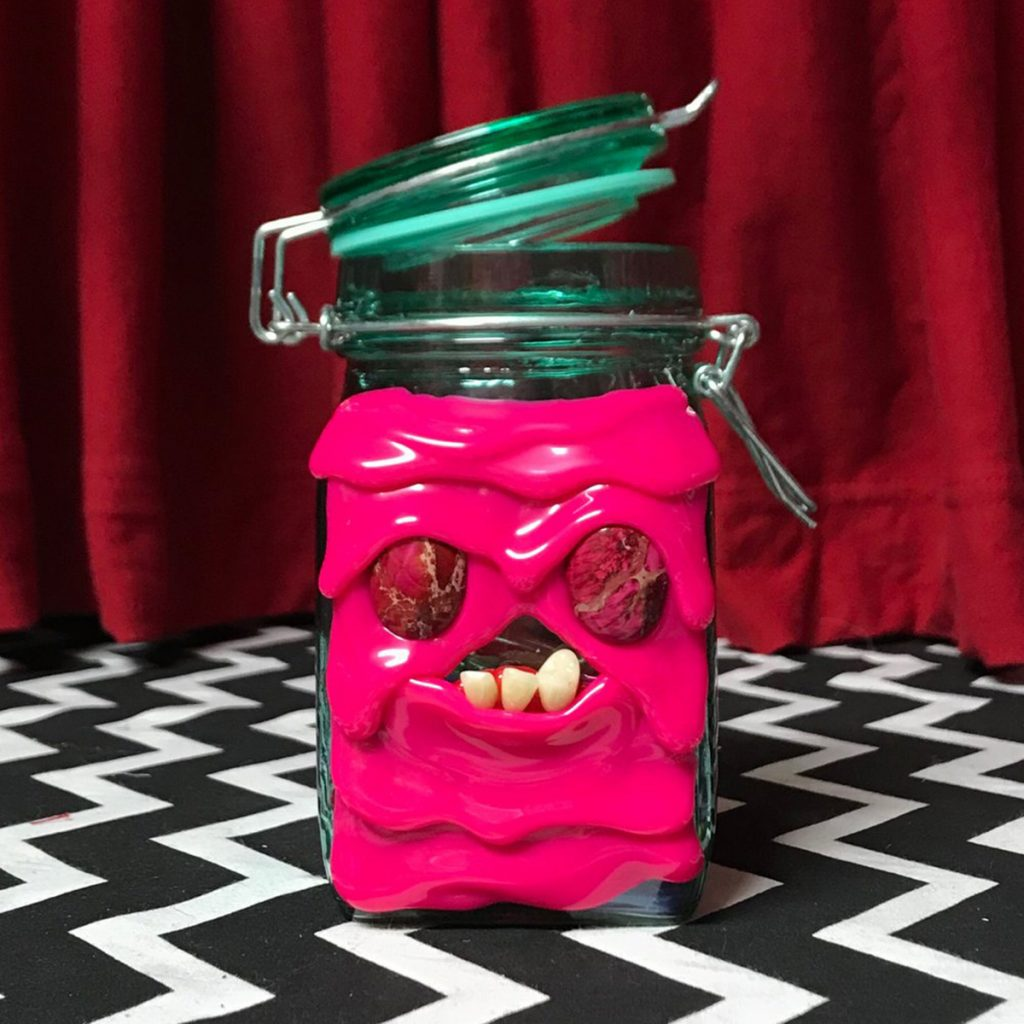 Weed Stash Jar #5: MeltMonster Jar by Kevin Herdemen