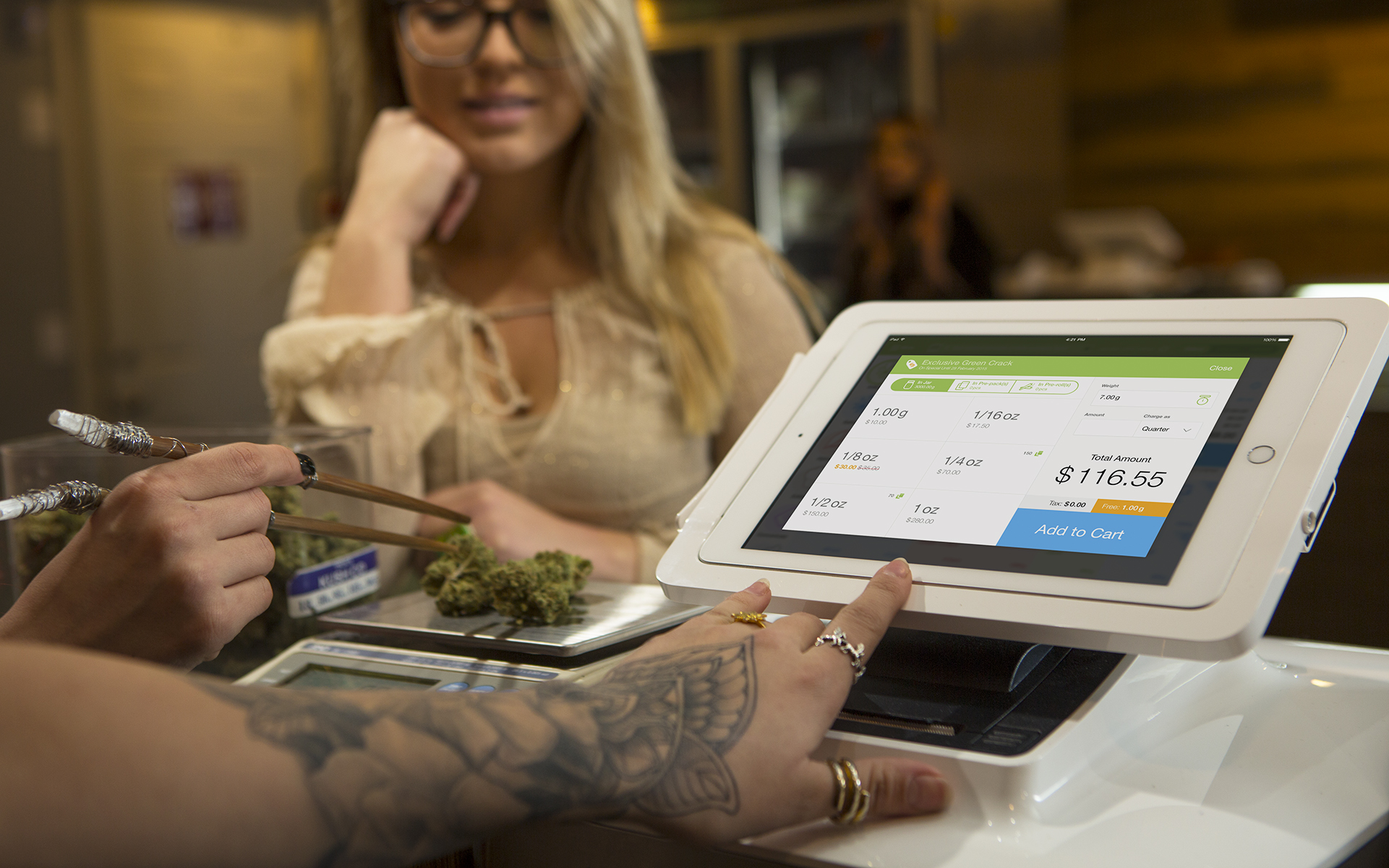 indicaonline dispensary point-of-sale system