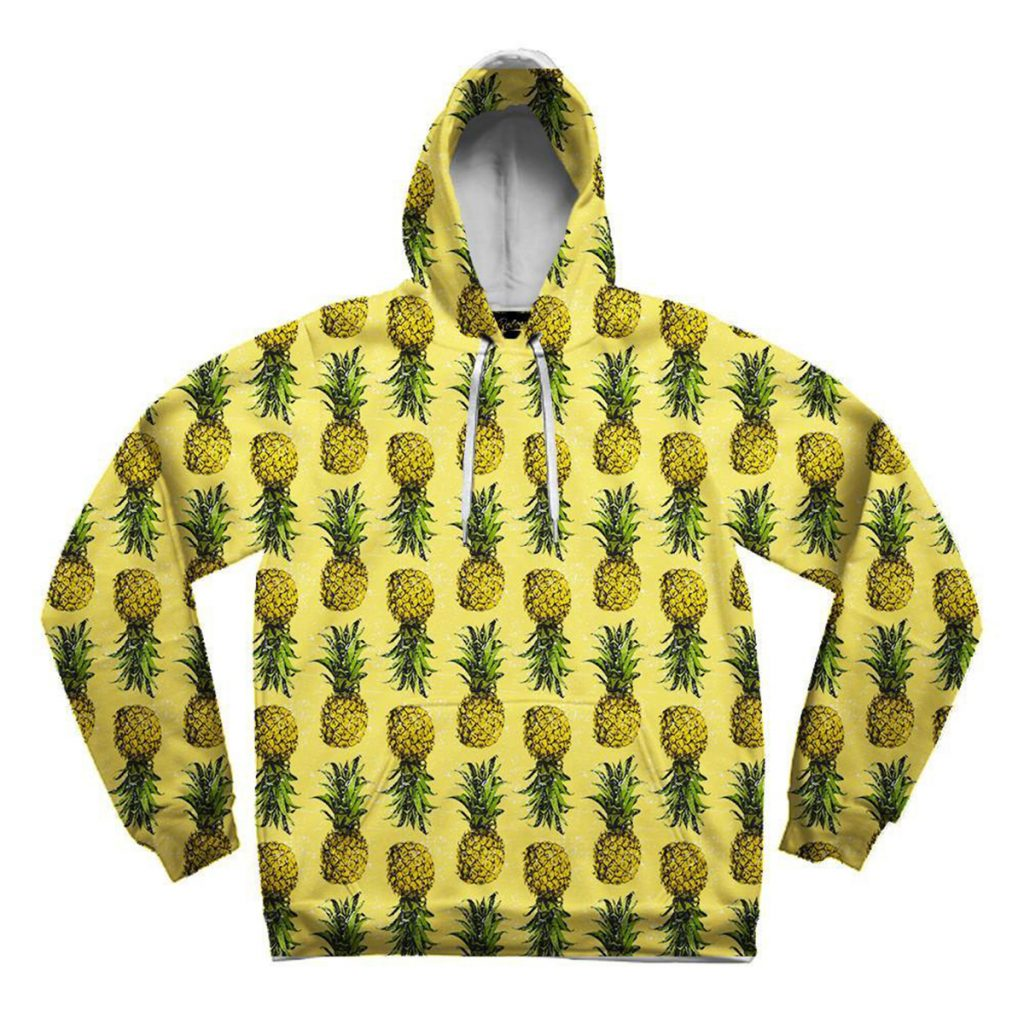 Cool and Cozy Weed Hoodie #2: Pineapple Hoodie by Electro Threads