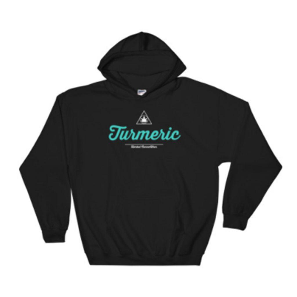 Cool and Cozy Weed Hoodie #7: Turmeric Hoodie by Herbal CannaWear