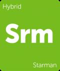 Starman marijuana strain tile