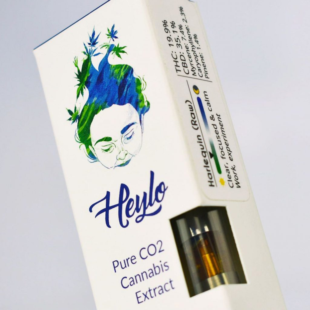 Favorite cannabis concentrates of 2018: Harelquin Raw CO2 Oil by Heylo Cannabis