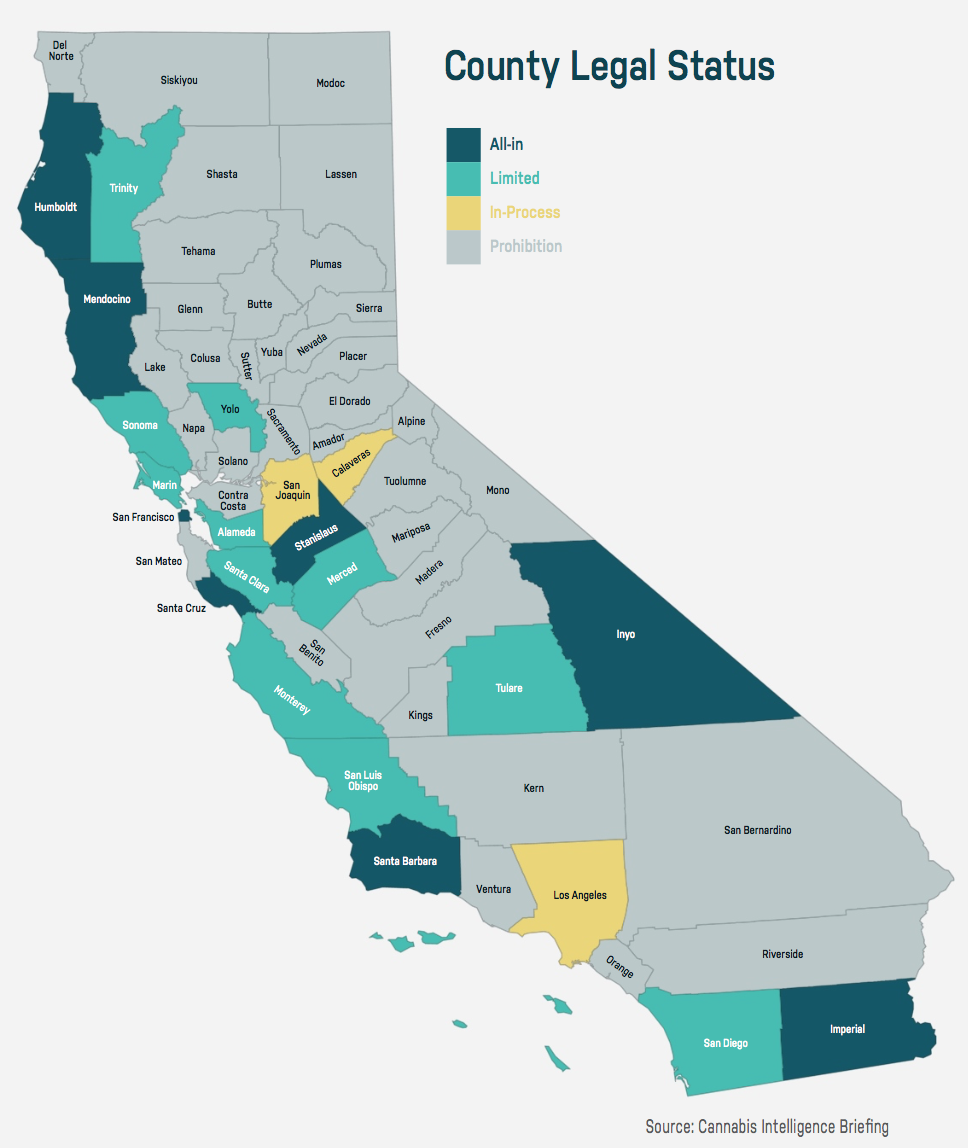 Map Of California With Counties.This Map Reveals California S Hidden Prohibition Problem Leafly