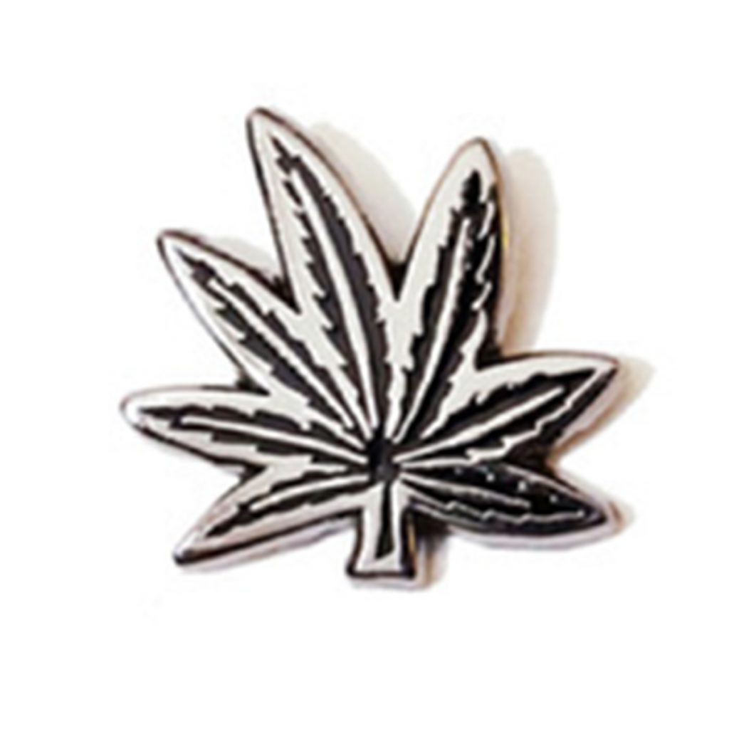 Cool Weed Pin/Button #4: Weed Leaf Pin by Really, Man?