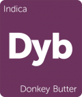 Donkey Butter marijuana strain tile