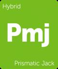 Leafly Prismatic Jack hybrid cannabis strain tile