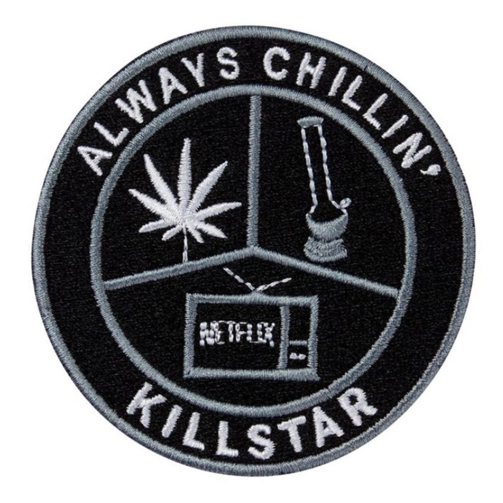 Iron on Weed Patch #13: Chill Patch by Killstar