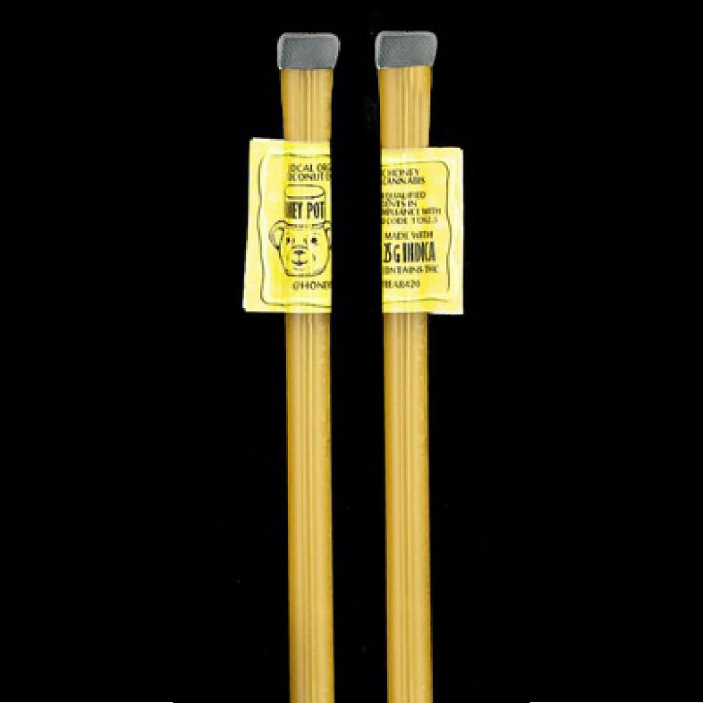 Weed Microdosing Edible Product #2: Honey Sticks by Honey Pot