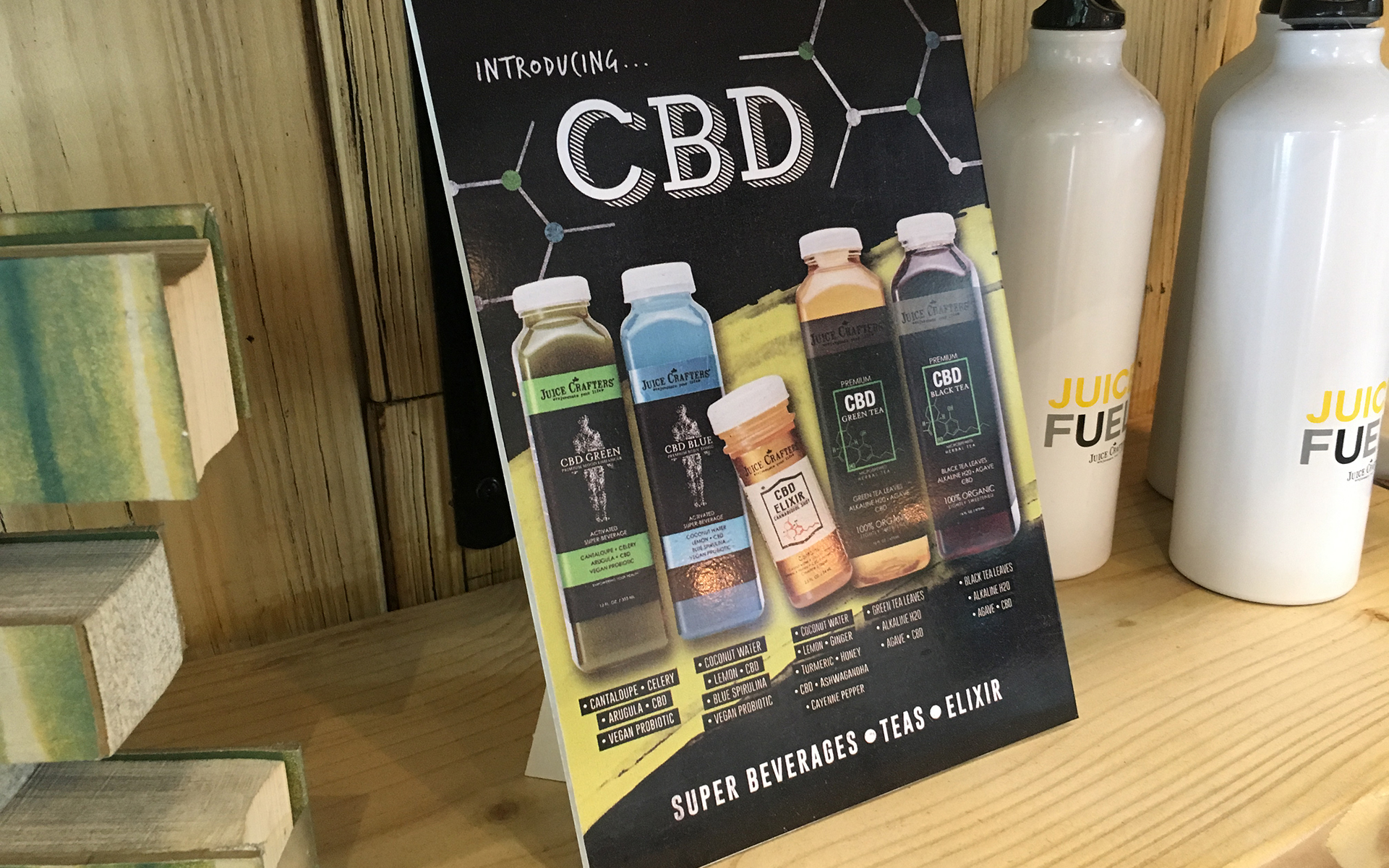 CBD Craze Hits LA's High-End Juice Bars   Leafly
