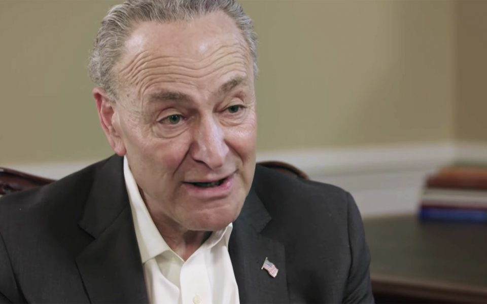 Sen. Chuck Schumer Wants to Decriminalize Cannabis. Here's Why.