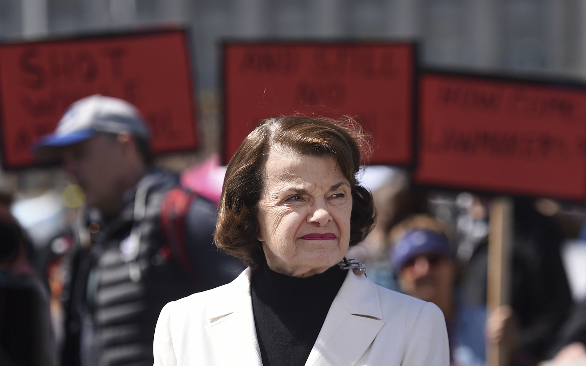 Image result for Images, Feinstein today, 2020 with Husband Richard Blum