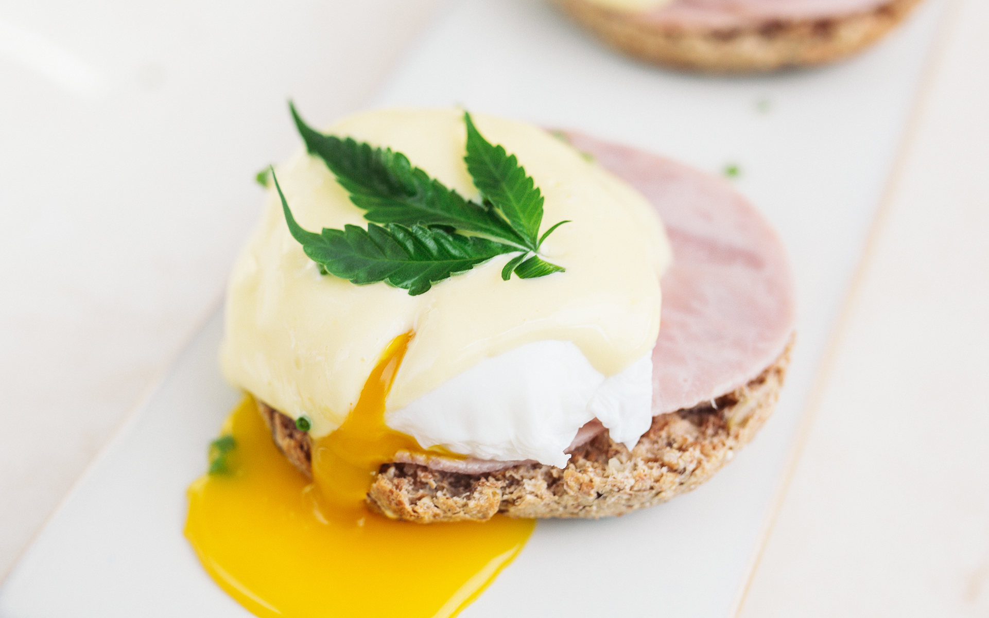 weed infused eggs benedict
