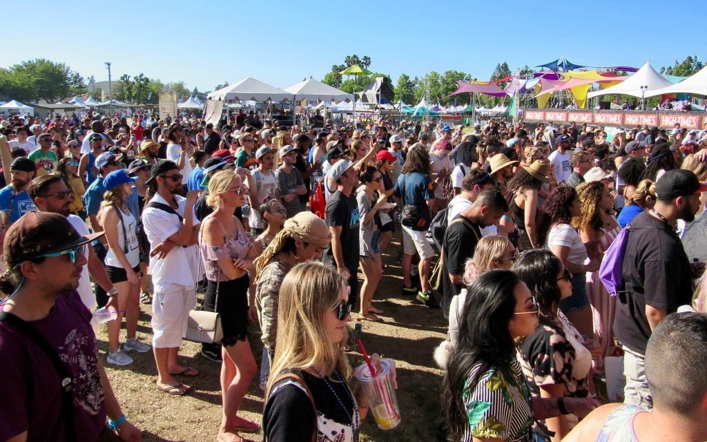 NorCal Cannabis Cup 2018 music crowd. | Photo by David Downs