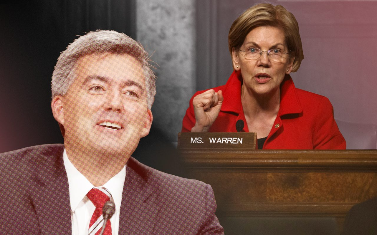 Federal cannabis legalization STATES Act sponsors Gardner and Warren
