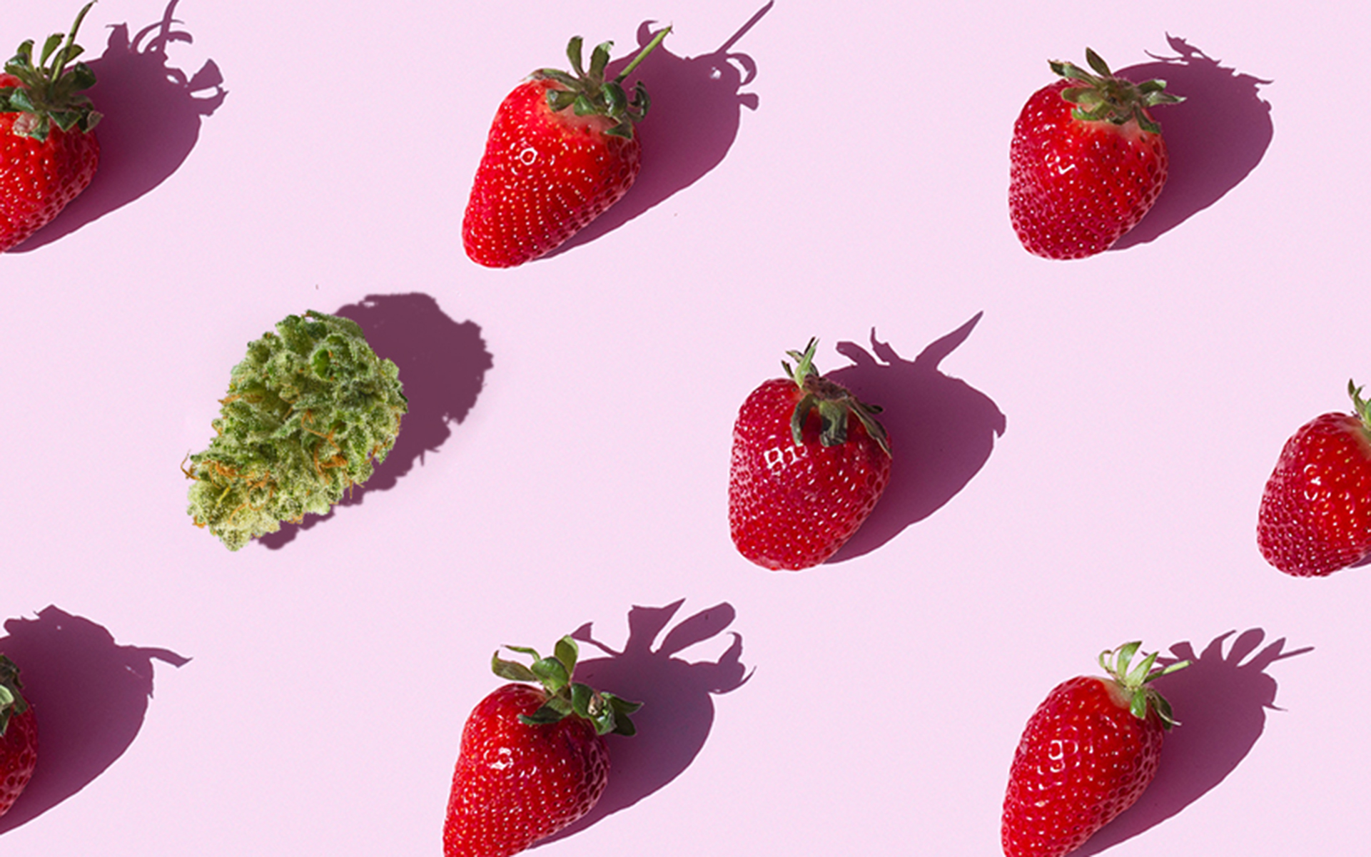 These 7 Fresh Strains Taste Like Strawberries
