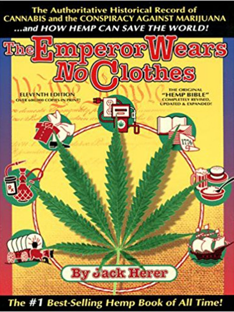 Marijuana book #4: The Emperor Wears No Clothes