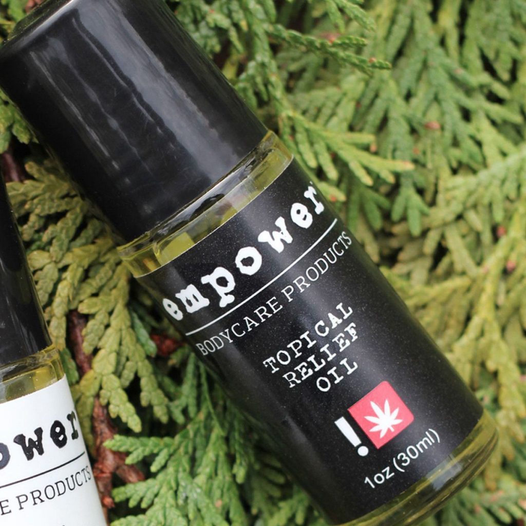 Best CBD Product in Oregon #3: Topical Relief Oil by Empower