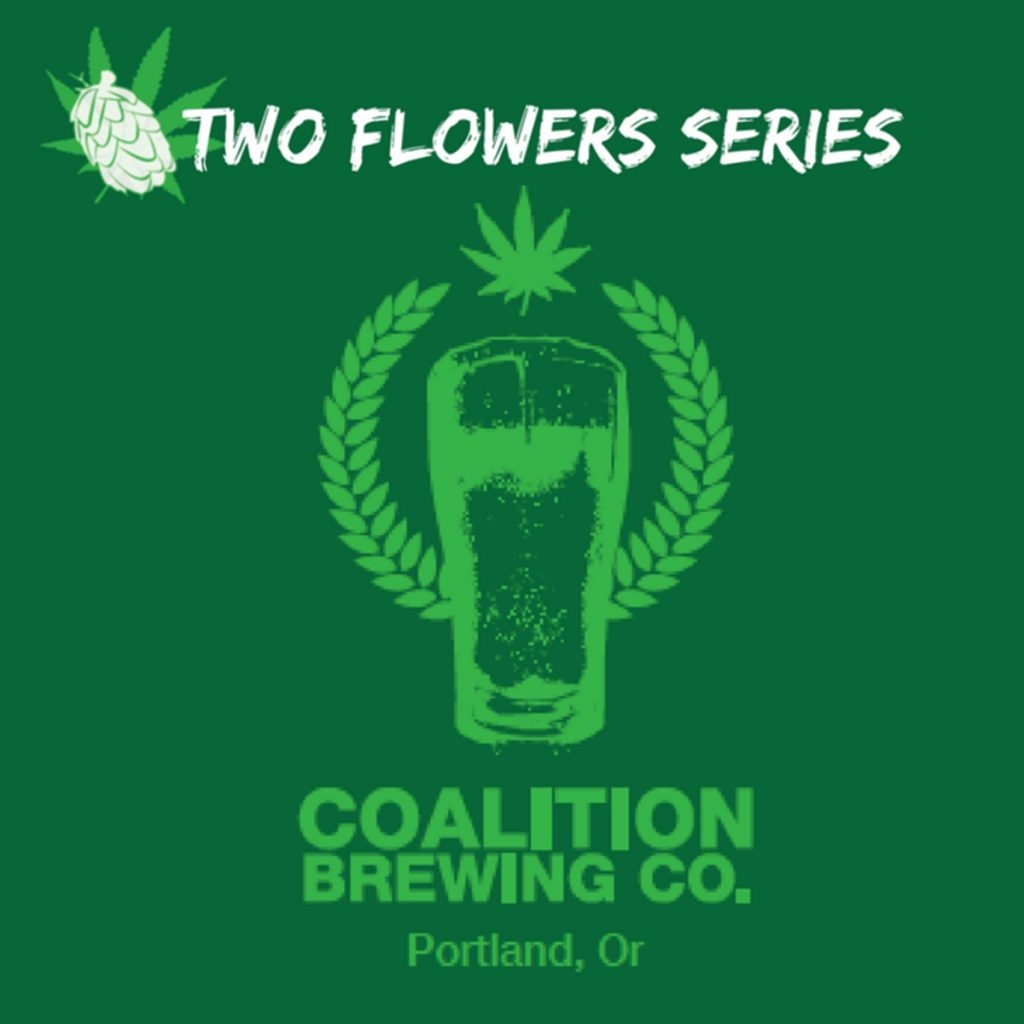 Best CBD Product in Oregon #4: Two Flowers CBD-Infused IPA by Coalition Brewing