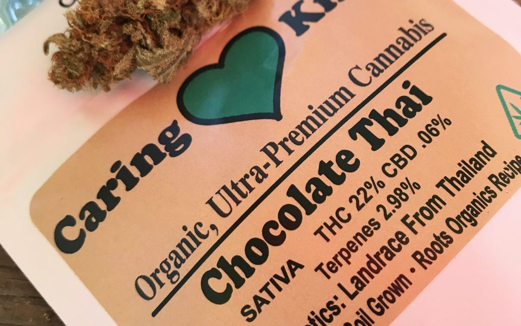 California weed strain #4: Chocolate Thai