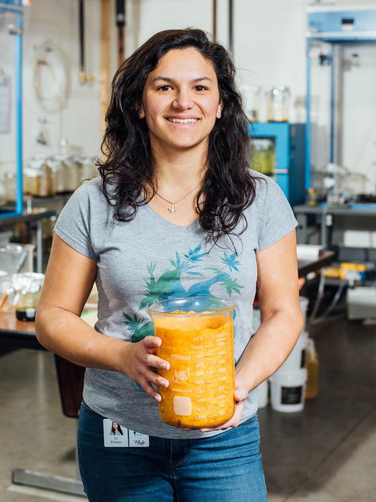 Heylo's cannabis extraction process: Heylo Founder Lauren 'Lo' Friesen