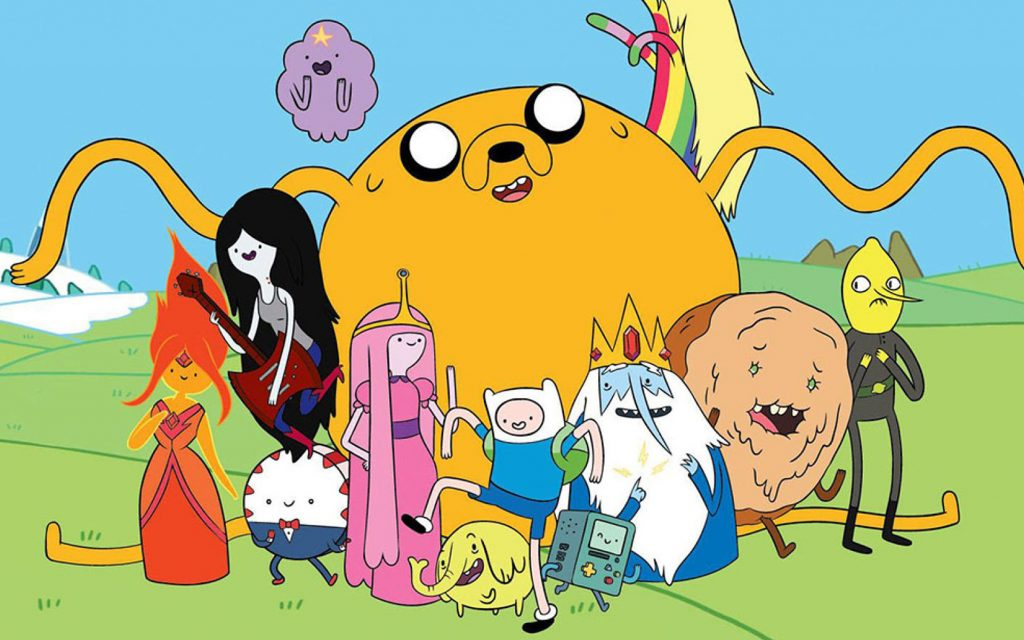 Best weed strains & products for watching dystopian tv shows: Adventure Time